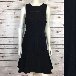 J. Crew Collection Paneled Eyelet Drop Hem Dress